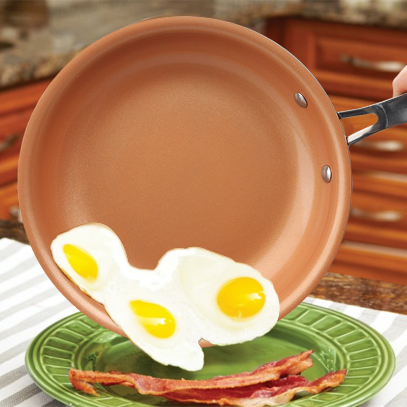 Non Stick Copper Frying Pan With Ceramic Coating Oven