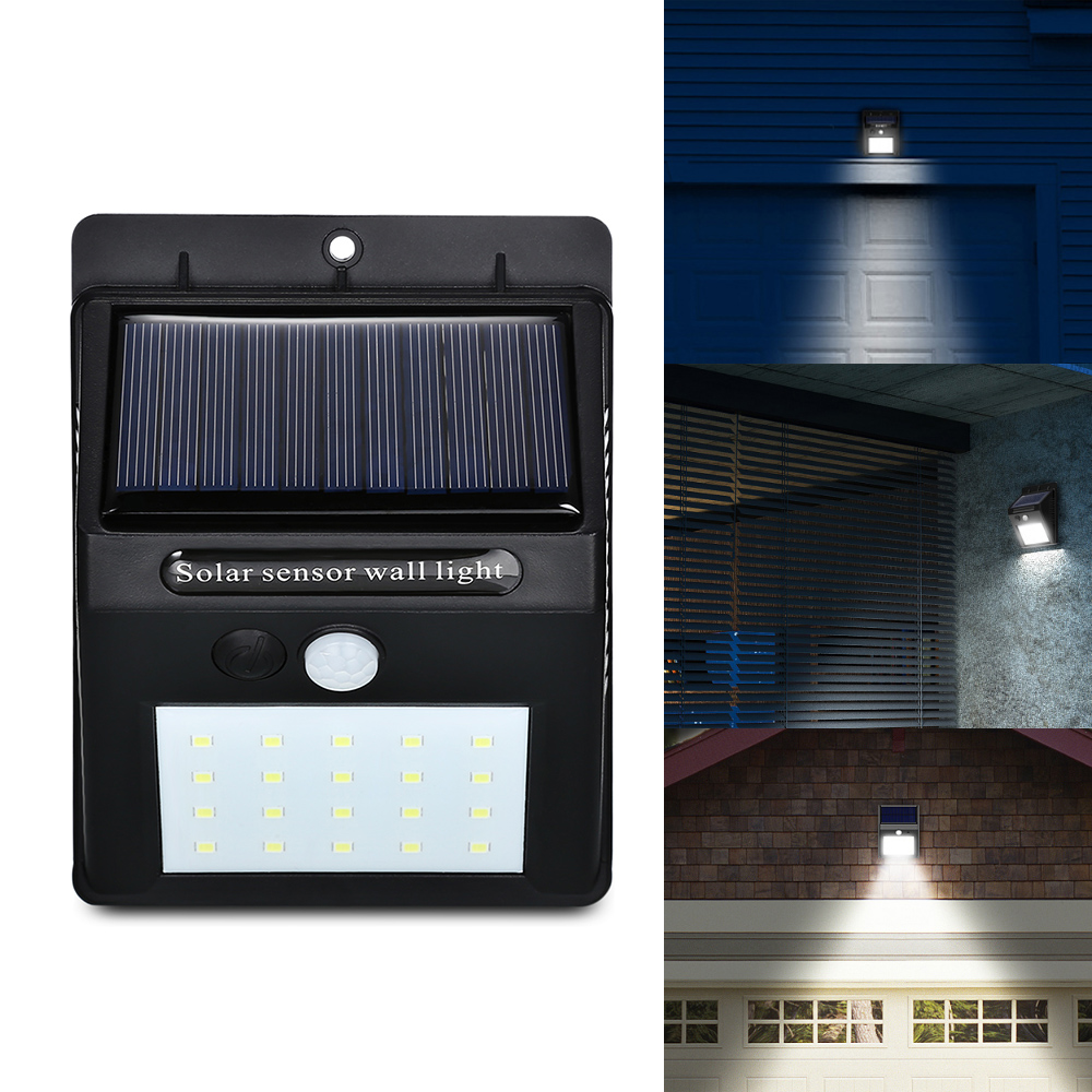 solar powered motion sensing 20 led waterproof light welcome to extreme deal online store. Black Bedroom Furniture Sets. Home Design Ideas